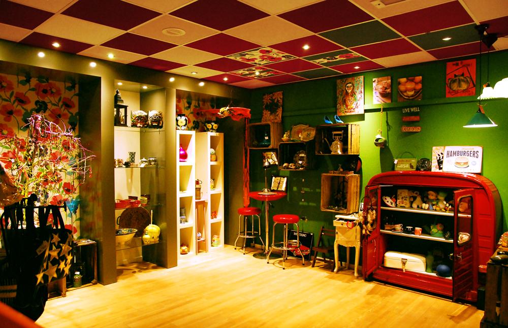 Sunshine Store kelderverdieping verbouwd tot giftshop
